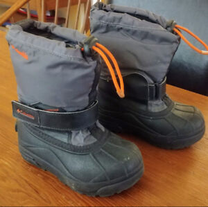 Toddler Size 10 Columbia Winter Boots