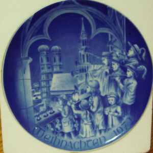 Christmas in Munich Bareuther-6th Ltd. Edition Plate - NOW $3.99