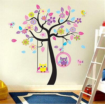 Tree Wall Sticker Removable Kids room Decor DIY Vinyl Art Nursery Mural