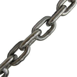 New galvanized chain