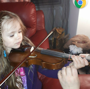 4yr old wants to play the violin!