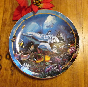 "1995 ""Miracle of Life"" by Lassen Marine Life Collector's Plate 1 Kitchener / Waterloo Kitchener Area image 1"