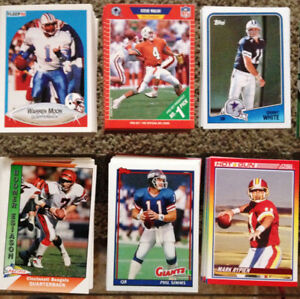 NFL commons lot of approx 300 cards