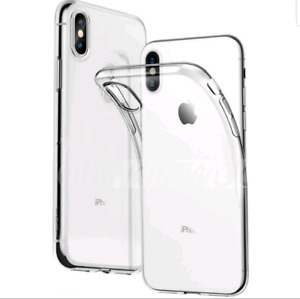 Clear silicone phone cases