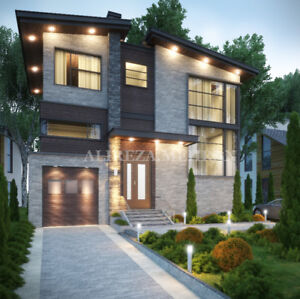 Architectural 3d modeling, rendering and drawing services (GTA)