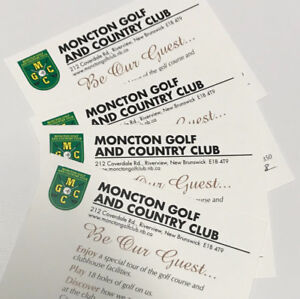 Moncton golf country green fee golf pass 18 holes