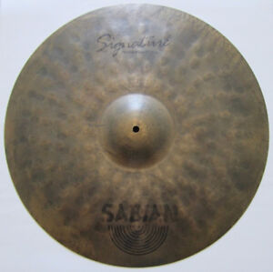 "SABIAN 21"" JOJO MAYER SIGNATURE FIERCE RIDE (RARE)."
