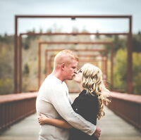 Full day wedding photographer plus engagement shoot for $1950