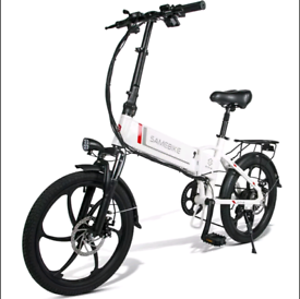 "New Electric Bike 20"" Power Assist Foldable Bicycle 350W 48V E-Bike"
