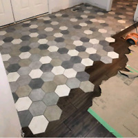 Professionally tile setter and stone installation