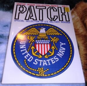 US Navy Patch Reference 1x Softcover 1x Hardcover Book Available