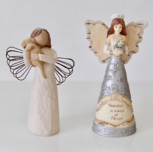 Willow Tree Angel & Elements Nurse Angel Figurines