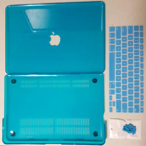 Blue 13 inch MacBook Pro Case With Keyboard Sleeve