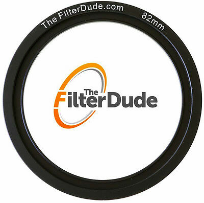 FilterDude 82mm LEE Compatible Wide Angle Adapter Ring for Filter -