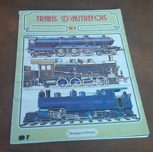French Book: Trains D'Autrefois, 1977 Kitchener / Waterloo Kitchener Area image 1