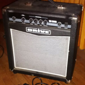 REDUCED - Drive 30CD Bass Amp 30 watts – Excellent Condition