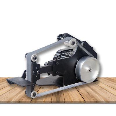 Mini 220v Industry Belt Sander Bench Grinder Polishing Machine 762 Brushless Diy