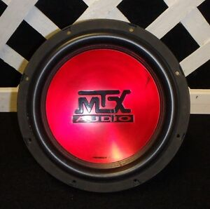 """MTX 10"""" subwoofer 4 ohm 300 Watts RMS"""