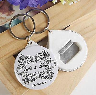 30pcs Personalized Bottle Opener/Keychain Wedding Favors Gifts For Guests - Personalized Gifts For Wedding