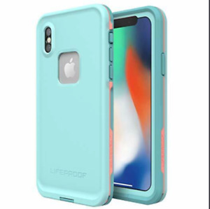 Apple iPhone X Mint Lifeproof FRĒ  Waterproof Case