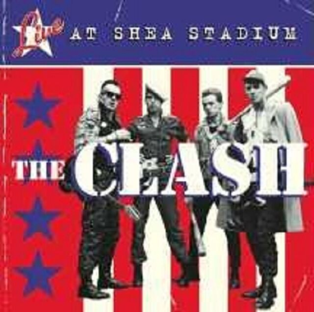 "THE CLASH ""LIVE AT SHEA STADIUM"" CD NEU"