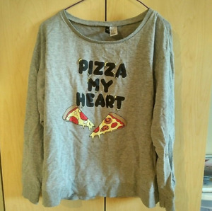 H&M Pizza My Heart Jumper