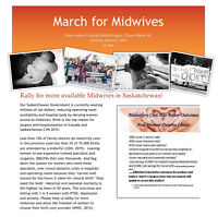 Rally for Midwives