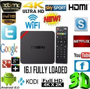 *New!!! Android Tv Box Fully Loaded + Kodi