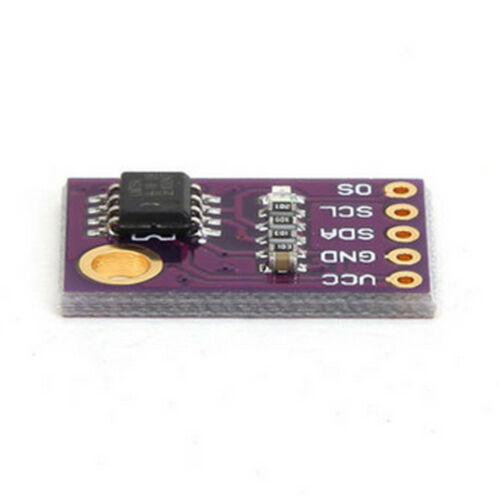 LM75A Temperature Sensor I2C High Precision 11Bit ADC Temp Resolution 0.125℃ AHS