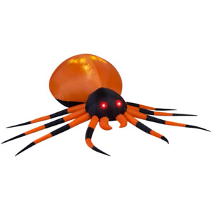 Large inflatable Halloween spider