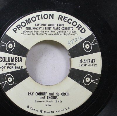 50'S & 60'S Promo 45 Ray Connie And His Orch. And Chorus - Favorite Theme From T