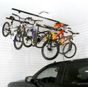 Multi-Bicycle Lift - motorised hoist, easy to install