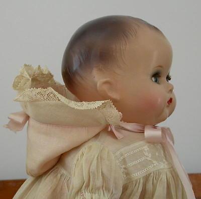 "1940 ALL ORIGINAL ARRANBEE LITTLE ANGEL BABY DOLL ~ 17"""