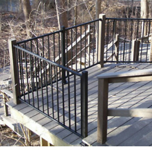 WANTED WROUGHT IRON FENCE