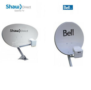 BELL / SHAW DIRECT satellite dish INSTALL and REPAIR