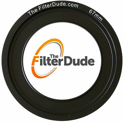 Wide Angle Adapter Ring (FilterDude 67mm LEE Compatible Wide Angle Adapter Ring for Filter)