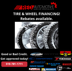 Winter Tires Payment Plan, No credit Needed!!