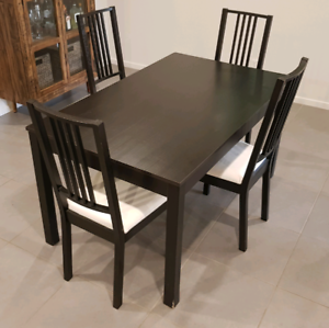 Ikea table and chairs   Dining Tables   Gumtree Australia ...
