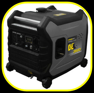 3500 watt INVERTER GENERATOR, super quiet, ELEC. START -ON SALE-