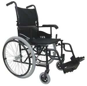 Lightweight folding wheelchair, barely used