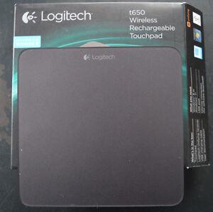 Wireless touchpad Logitech t650