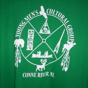 new:  men's tee shirt XL Conne River Young Mens Cultural Group Kitchener / Waterloo Kitchener Area image 1