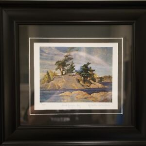 Group of Seven Fine Art Reproduction with COA