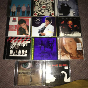 80'S 90'S HARD ROCK METAL POP CD'S $2 AND UP