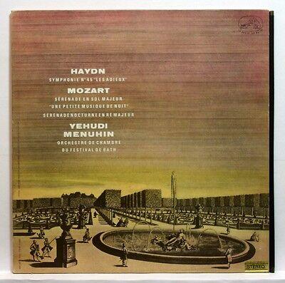 Asdf 285 Menuhin   Haydn Symph 45 Mozart Serenade Kleine Nachtmusik Stereo Lp