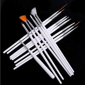 Nuevo-15pc-Arte-en-Unas-UV-Gel-Diseno-Cepillo-Conjunto-Pintura-Lapicera-Manicura-Puntas-Herramientas