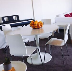 Dining set IKEA table and chairs