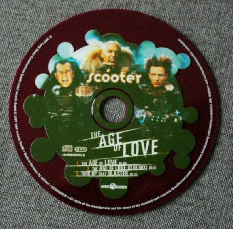Scooter, the age of love, maxi cd limited edition