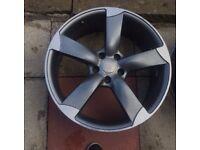 "Audi 19"" rotor alloy"