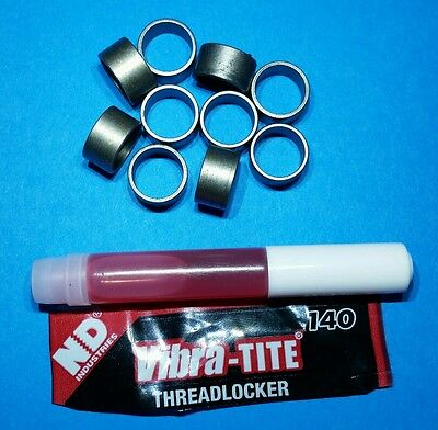 YSPBLT-027 Ring Gear Bolt Spacer Sleeve Kit Set of 10 7/16 to 3/8 inch Jeep